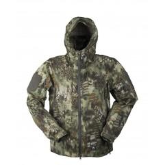 Тактическая мембранная куртка MIL-TEC hardshell jacket в расцветке Mandra (Kryptek)