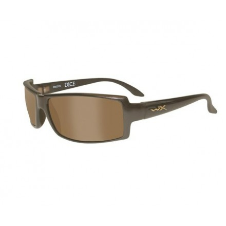 Wiley X DICE Polarized Brown