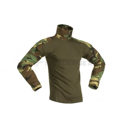 Боевая рубаха Invader Gear Combat Shirt Woodland