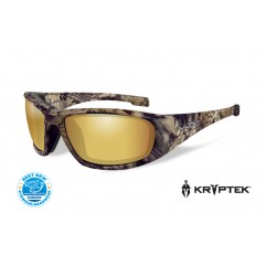 Очки Wiley X Boss Polarized Amber Gold Mirror Kryptek Highlander