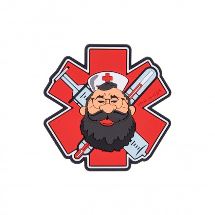 "Патч Helikon-Tex ""Beardman MEDIC"" Patch"
