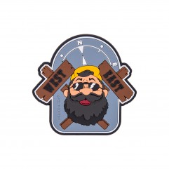 "Патч ""Beardman OUTBACK"" Patch"