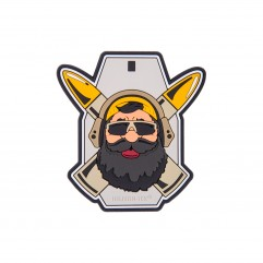 "Патч Helikon-Tex ""Beardman RANGE"" Patch"