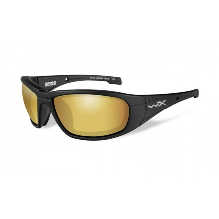 Очки Wiley X Boss Polarized - Gold Mirror