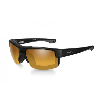 Wiley X Compass Polarized Amber Gold