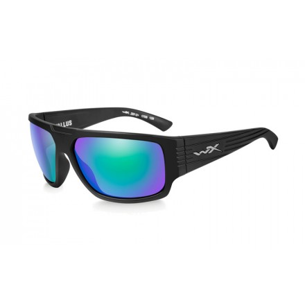 Wiley X Vallus Polarized Emerald Mirror