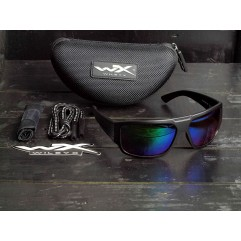 Wiley X Vallus Polarized Emerald Mirror ACVLS07