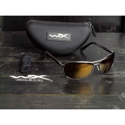 Wiley X Klein Polarized Amber Gold ACKLE04