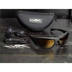 Wiley X Boss Polarized Gold Mirror CCBOS04