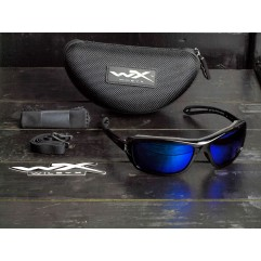 Wiley X Wave Polarized Blue Mirror CCWAV09