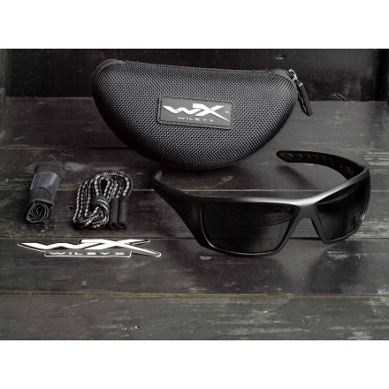 Очки Wiley X Nash Polarized Smoke Grey ACNAS08